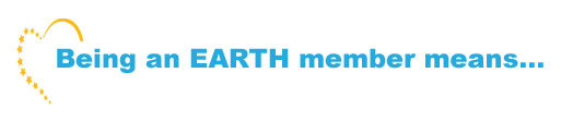 being an EARTH member is copie