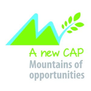 Logo A new can - Montains of opportunities
