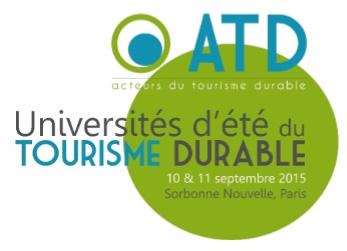 ATD Université d'Ete du Tourisme Durable