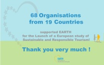 EARTH thank you EU study for Responsible Sustainable Tourism